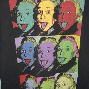 Tops - Colorful Einstein Tee